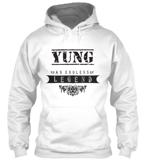 Yung An Endless Legend White Sweatshirt Front