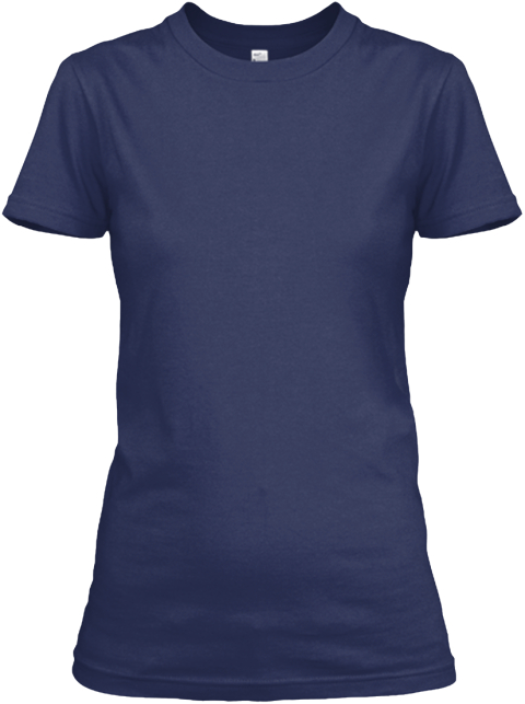 Protected By Normand Poitevin T Shirts Navy T-Shirt Front