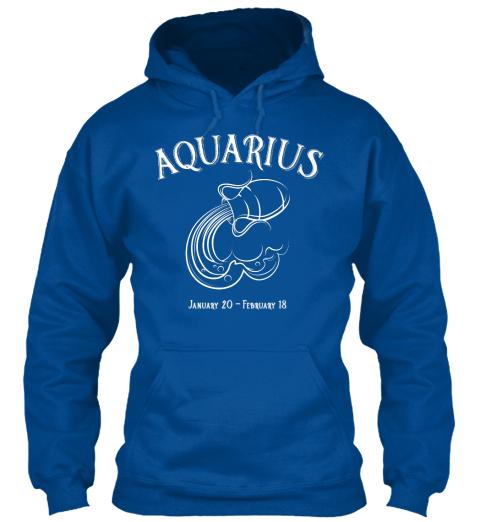 Aquarius Astrological Sign Water Horoscope Sweatshirt