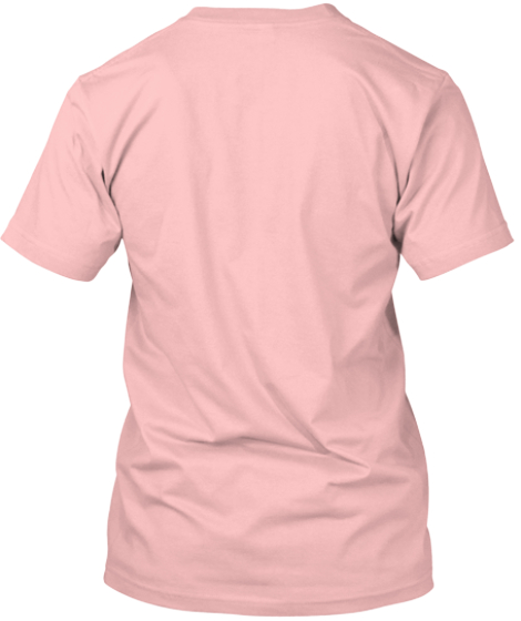 In Memory Of Faith  Pale Pink T-Shirt Back