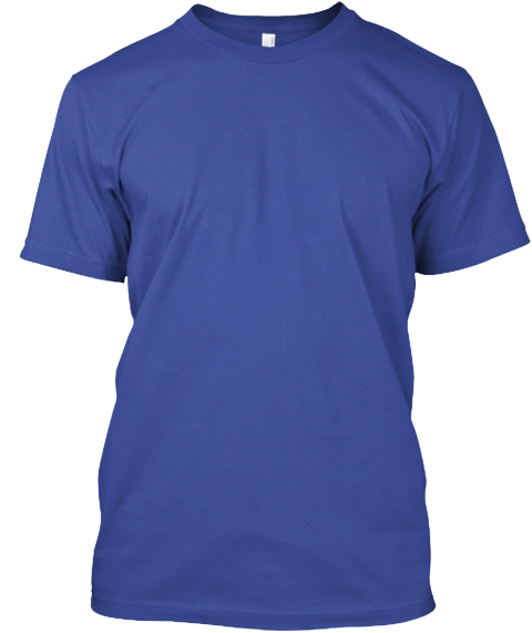 Erodynamic Deep Royal T-Shirt Front