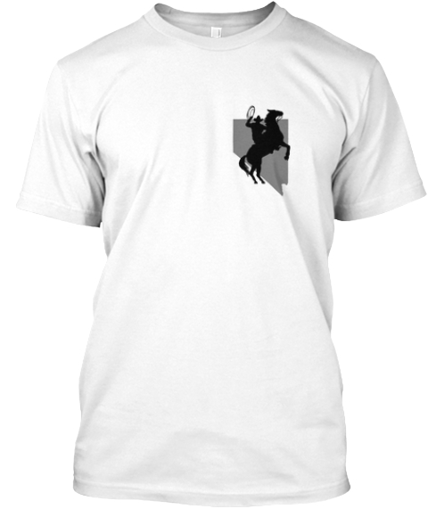Support The Bundy Ranch White T-Shirt Front