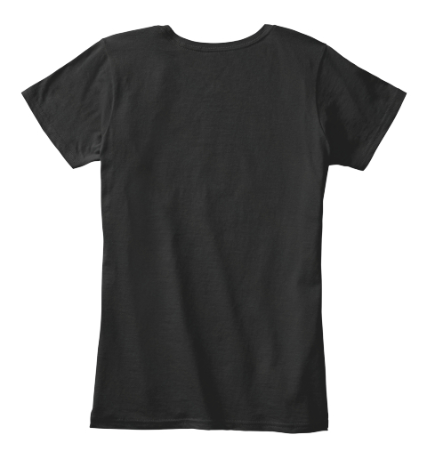 Because Whisky Black T-Shirt Back