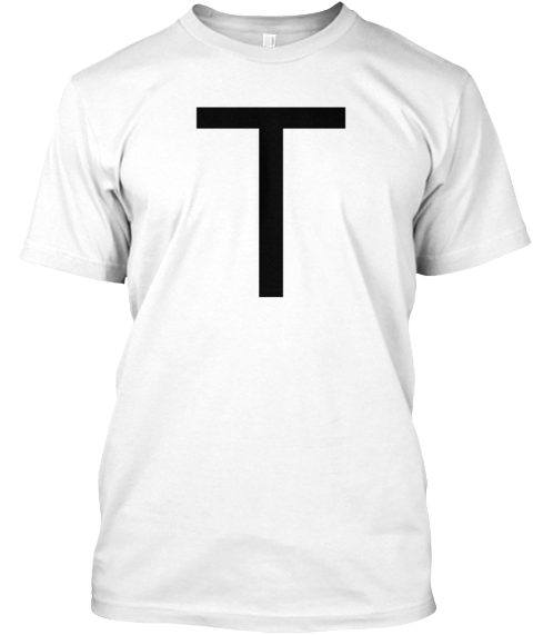 T White T-Shirt Front