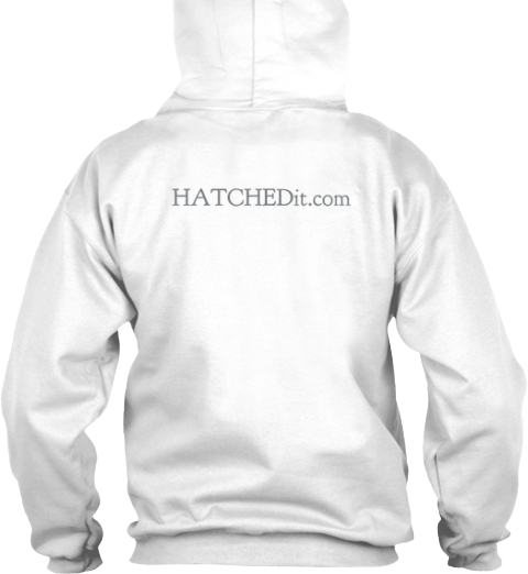 Hatche Dit.Com White T-Shirt Back