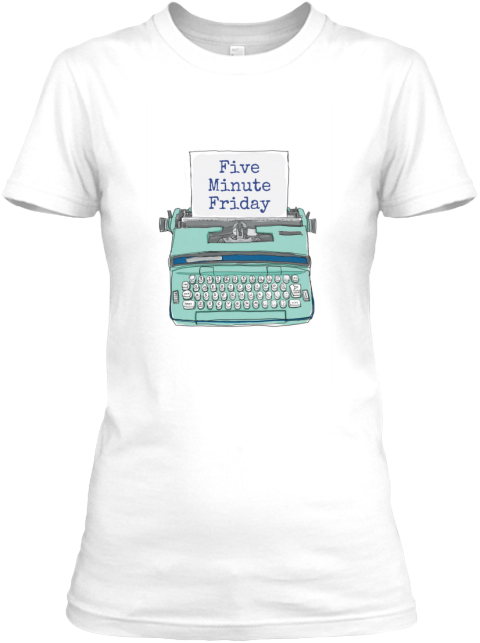 Five Minute Friday White Women's T-Shirt Front