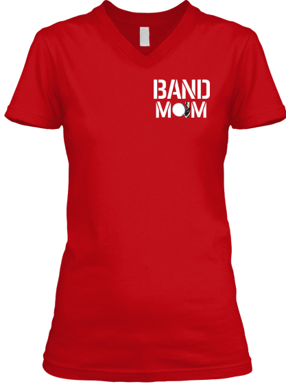 Band Mom T-Shirt Front