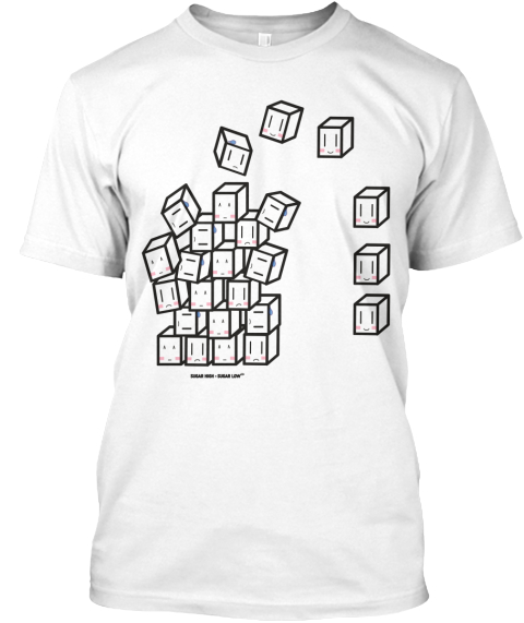 Fighting Diabetes One Sugar At A Time White T-Shirt Front