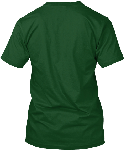 Legalize Paddle Forest Green T-Shirt Back