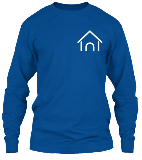 Good Quality And Relaxing Shirt! :) Royal Long Sleeve T-Shirt Front