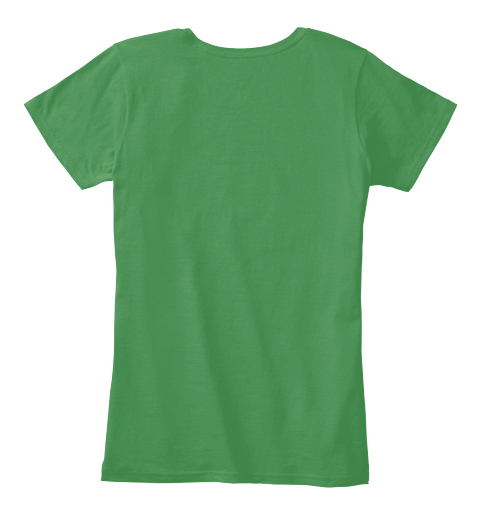 Grounded Kelly Green  Women's T-Shirt Back