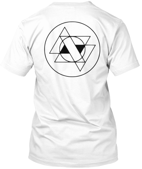 Articulate Sound Apparel White T-Shirt Back