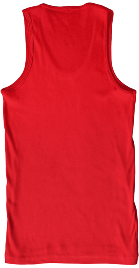Eat.Sleep.Rave.Repeat.Tank. Red Tank Top Back