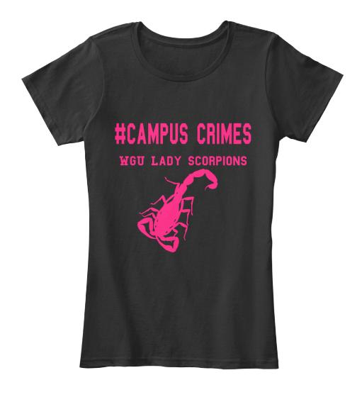 Black Lady Scorpion Shirt