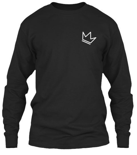 Kow (The Kings) Black Long Sleeve T-Shirt Front