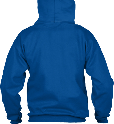 Name Bidwell Dad Royal Sweatshirt Back