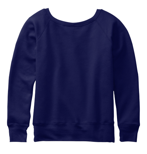 Edc Loose Fit Premium Sweatshirt Navy  Sweatshirt Back