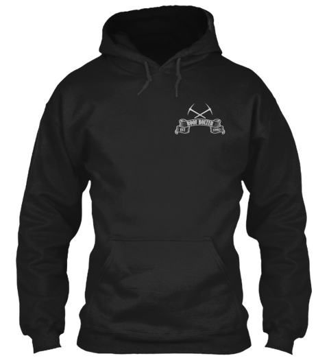 Roof Bolter Black Sweatshirt Front