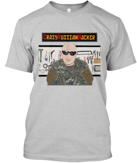 5b2f95d18af T Shirts By Crazyrussianhacker - CRAZY RUSSIAN HACKER Products from ...
