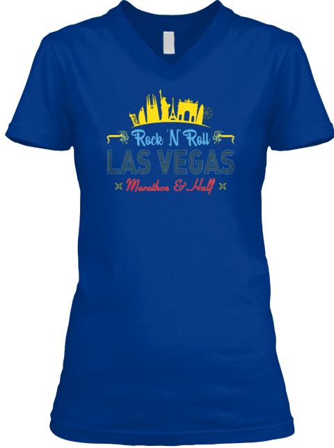 Las Vegas Custom T Shirts For Women Rock N Roll Las