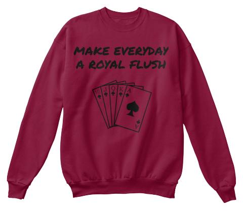 how to make a royal flush