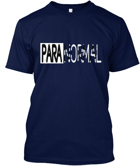 Paranormal Navy T-Shirt Front