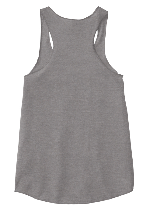 Woding For The Wedding! Eco Grey Women's Tank Top Back