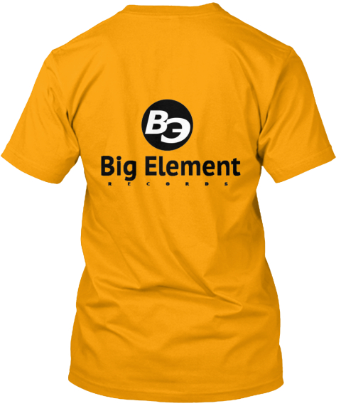 Big Element Gold T-Shirt Back