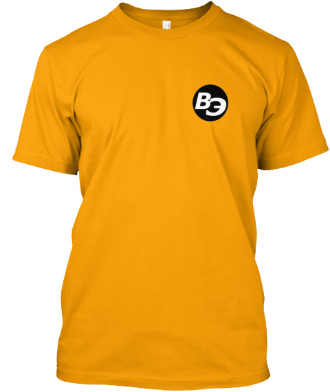 Official Big Element T Shirt (Yellow) Gold T-Shirt Front