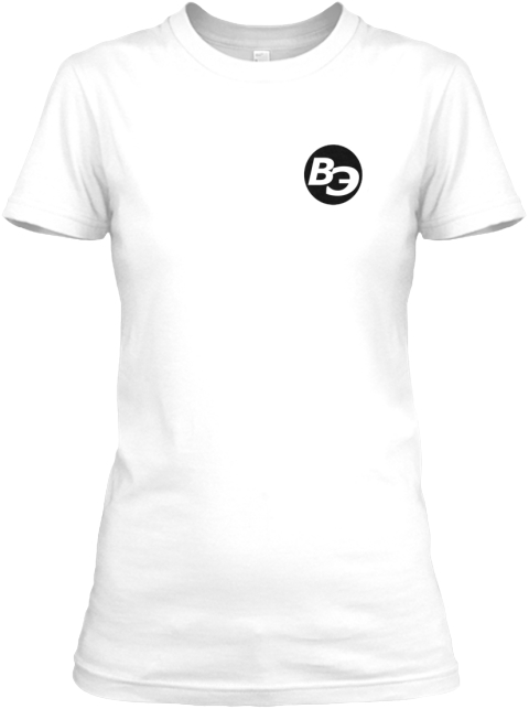 Be White Women's T-Shirt Front
