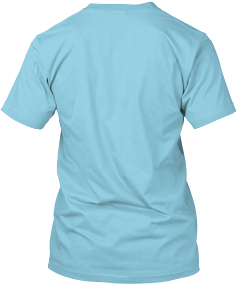 Mozart Light Blue T-Shirt Back