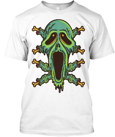 Halloween Smile T-Shirt Front