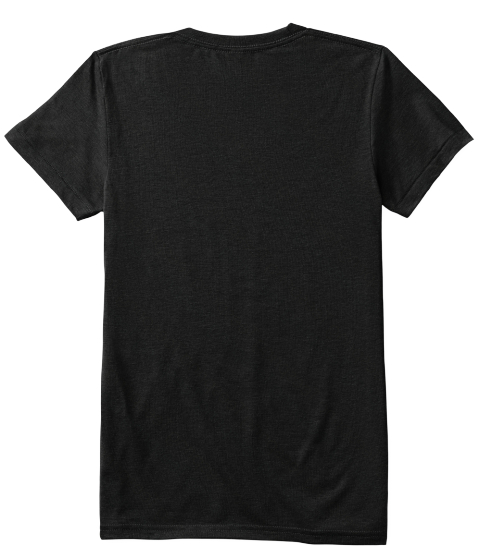 To Raise Tee Solid Black T-Shirt Back