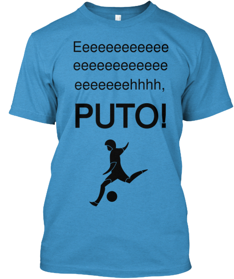 Eeeeeeeeeeee Eeeeeeeeeeee Eeeeeeehhhh, Puto! T-Shirt Front
