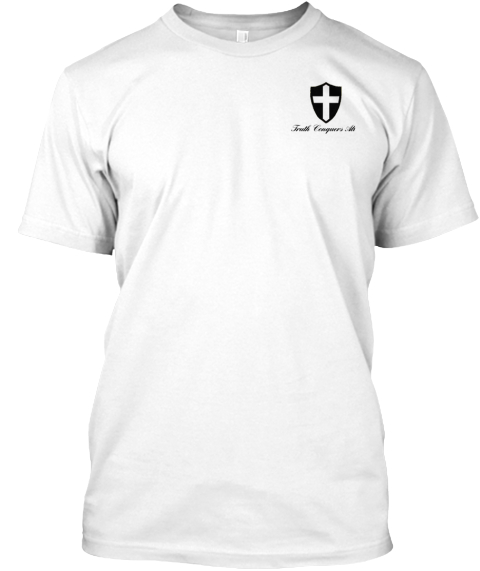 Truth Congress White T-Shirt Front