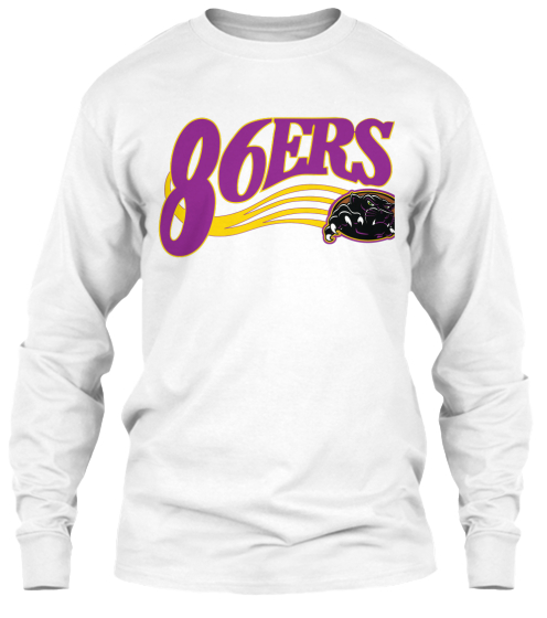 86ers Long Sleeve T-Shirt Front