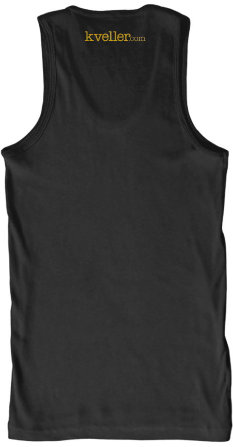 Kveller.Com Black T-Shirt Back