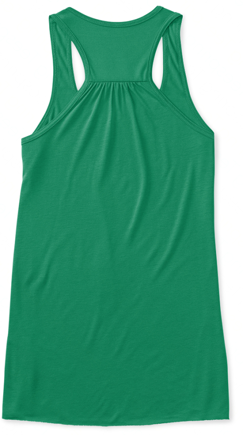 Keep Believing Kelly Women's Tank Top Back