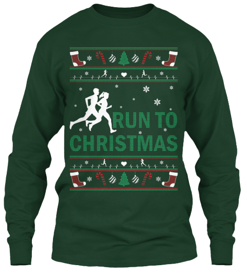 Running Christmas Sweater Style - RUN TO CHRISTMAS Products from ...