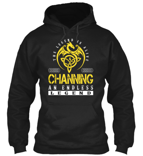 The Legend Is Alive Channing An Endless Legend Black Sweatshirt Front