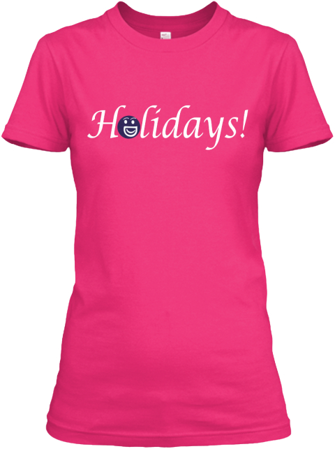 Holidays Heliconia Women's T-Shirt Front