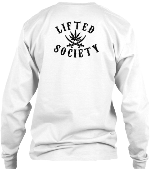 Lifted Society White T-Shirt Back