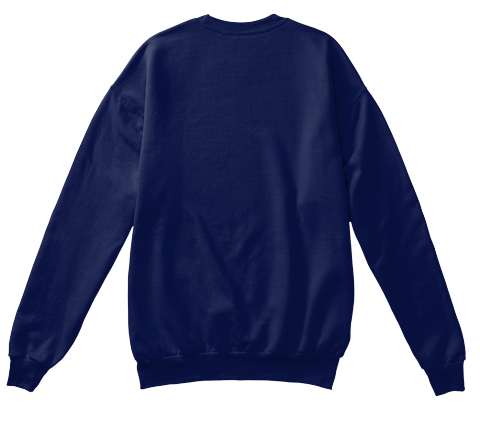 Mama Bear Sweater Navy  Sweatshirt Back