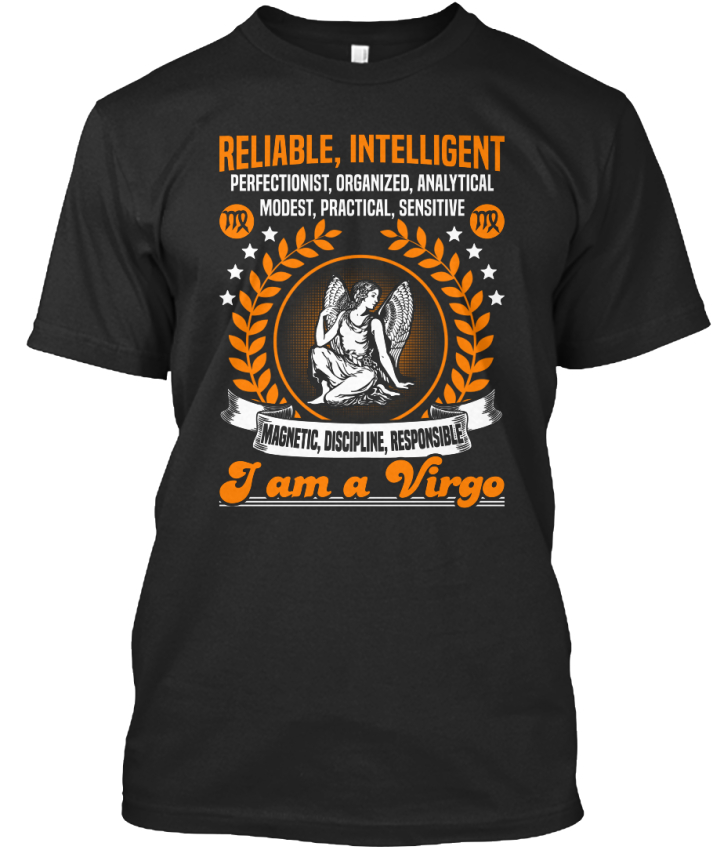 Details about Fun Zodiac-im A Virgo - Reliable Intelligent Perfectionist  Premium Tee T-Shirt