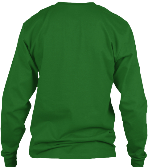 Art Supervisor Manager Irish Green T-Shirt Back