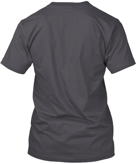 Tees For Jenson  Asphalt T-Shirt Back