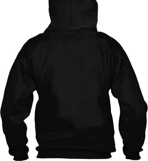 Never Doubt Sena  Black Sweatshirt Back