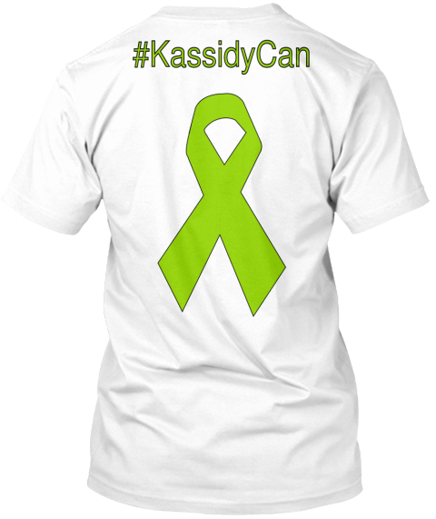 #Kassidy Can White T-Shirt Back