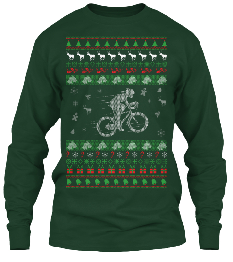 Cycling Ugly Christmas Sweater Products from Ugly Christmas Sweater ... 47409585a