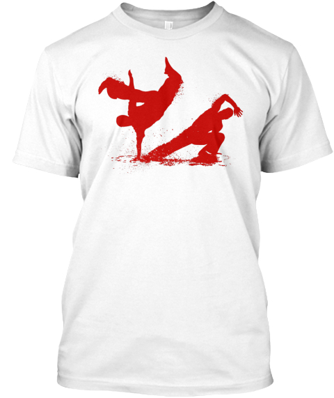 Capoeira Flow (R) Only A Few Days Left! White T-Shirt Front